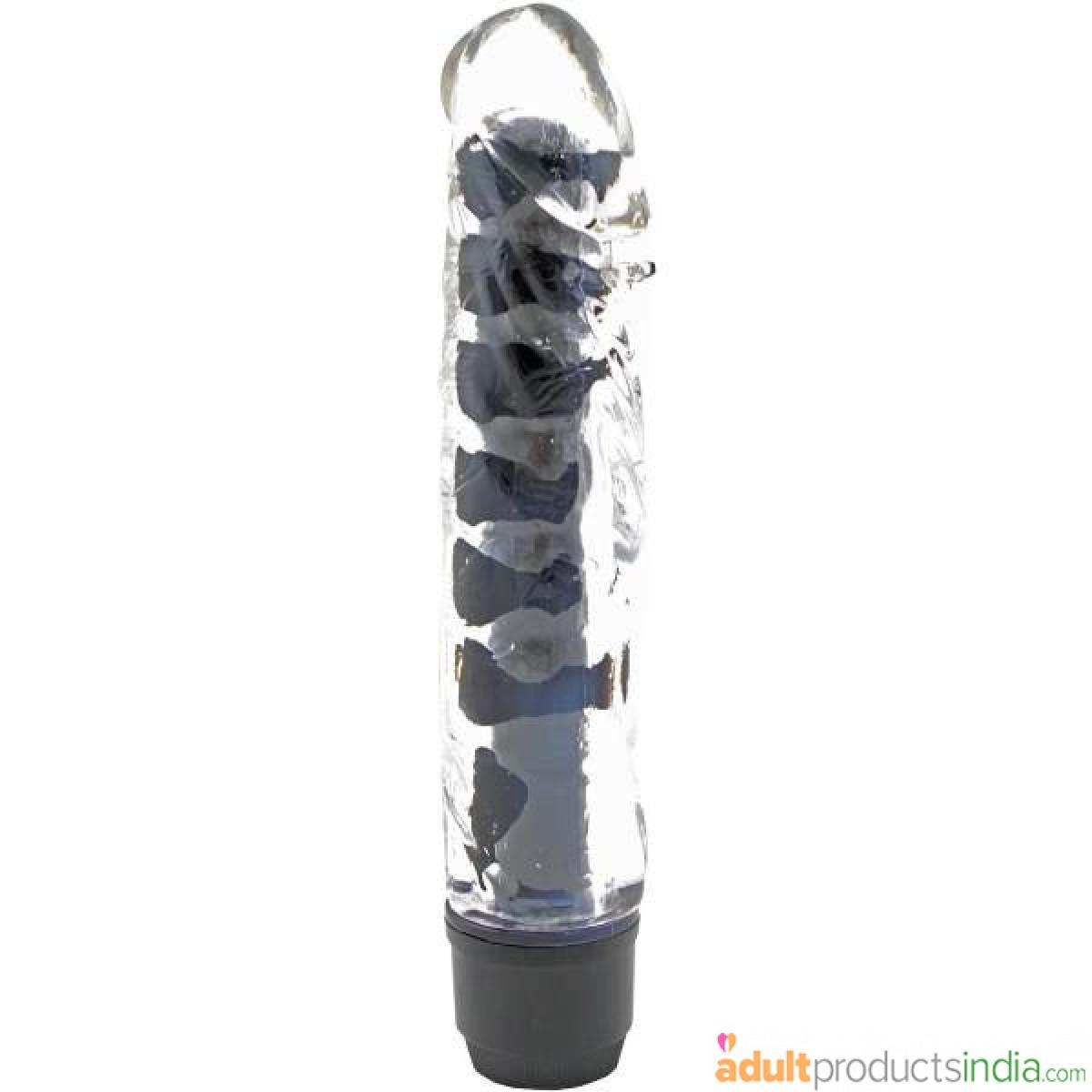 Multi Speed Soft Jelly Vibrator - Black