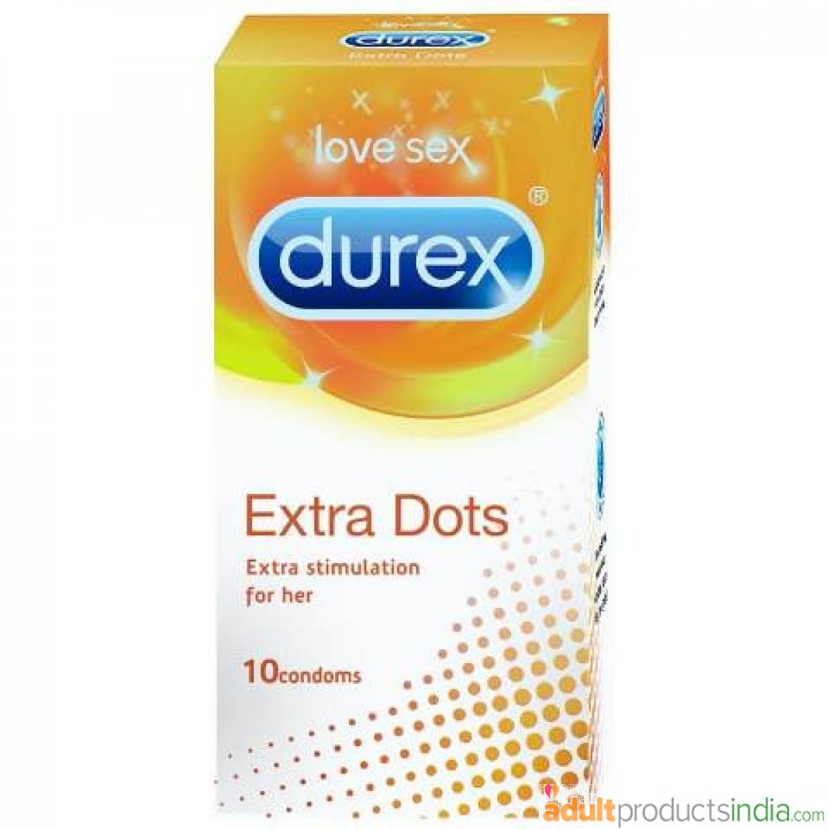 Durex - Extra Dots - 10 pieces