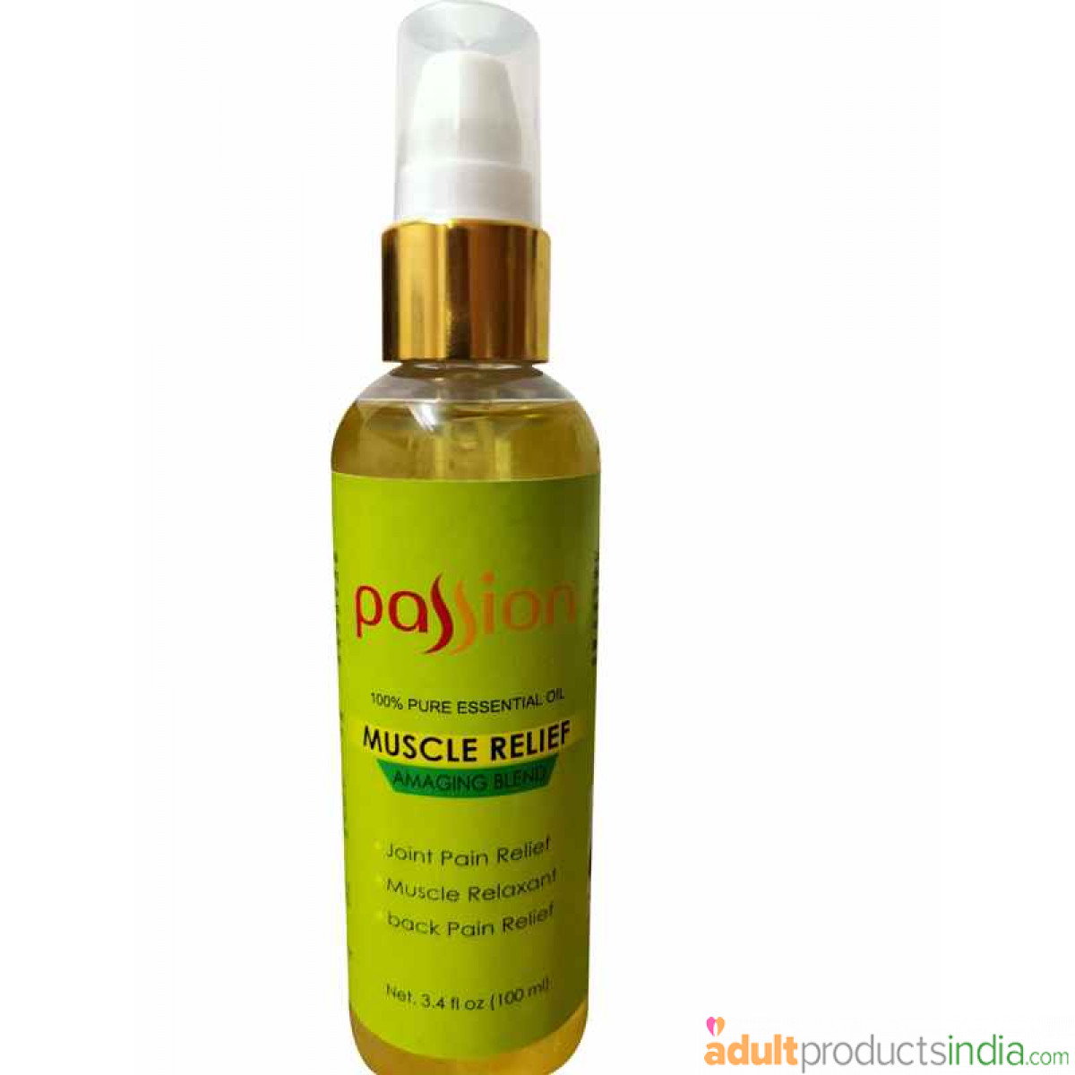 Passion - Body Massage Oil - Muscle Relief