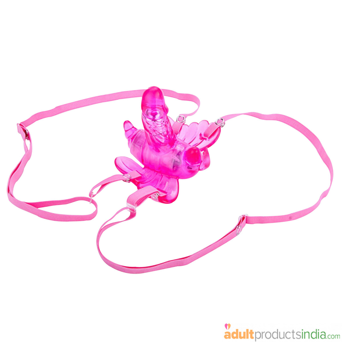 INS 12 Speeds Wireless Remote Control Strap-on Butterfly Vibrator