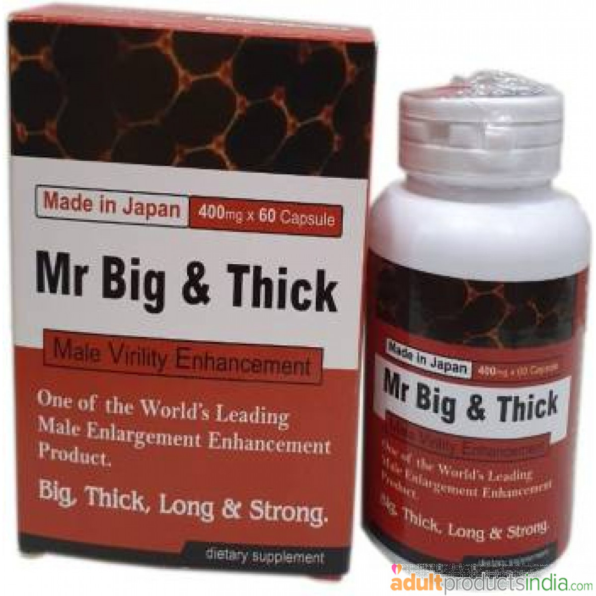 Mr Big & Thick Male Enhancement ( 60 Capsules )