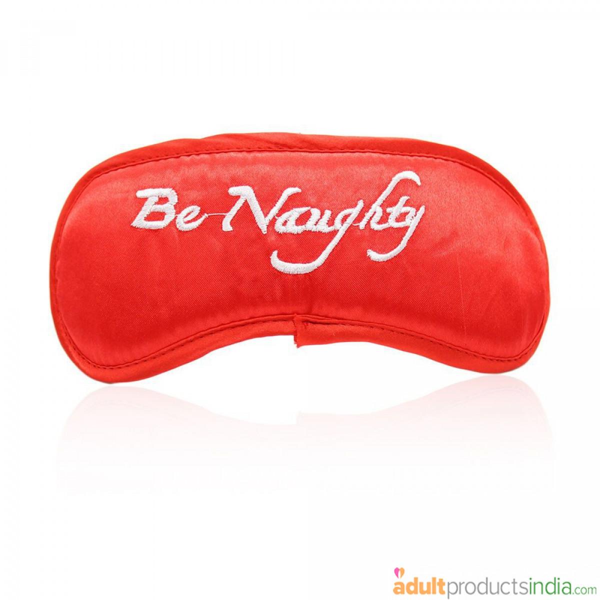 Be Naughty Eye Mask