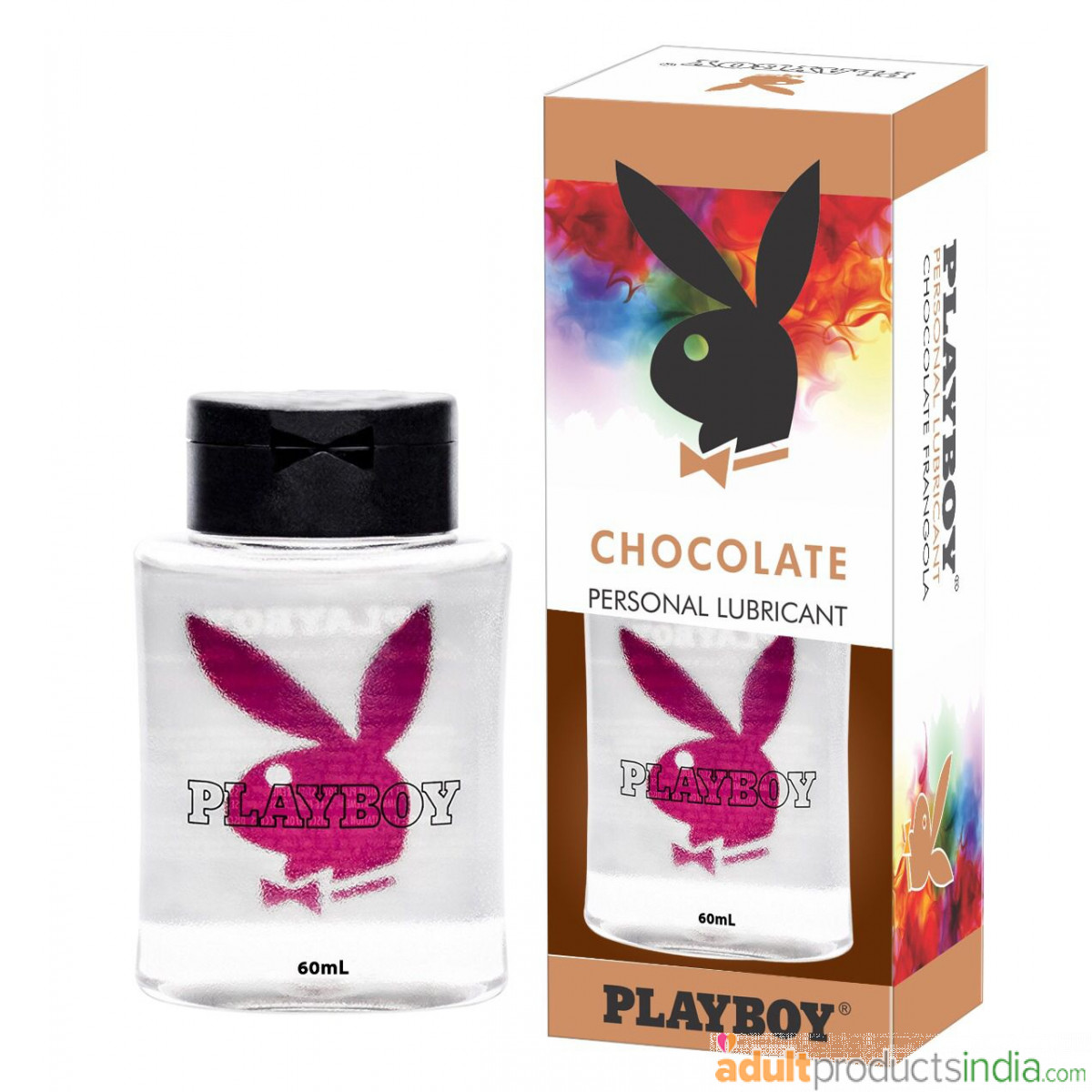 New Playboy Personal Lubricant - Chocolate