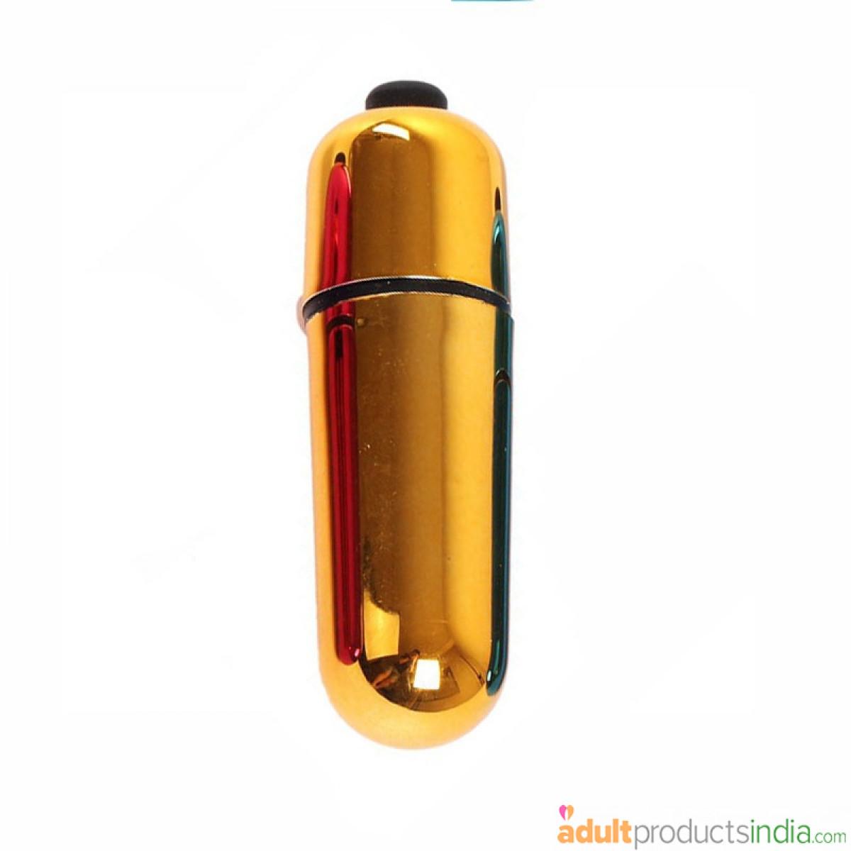 Mini Bullet Vibrator - Gold