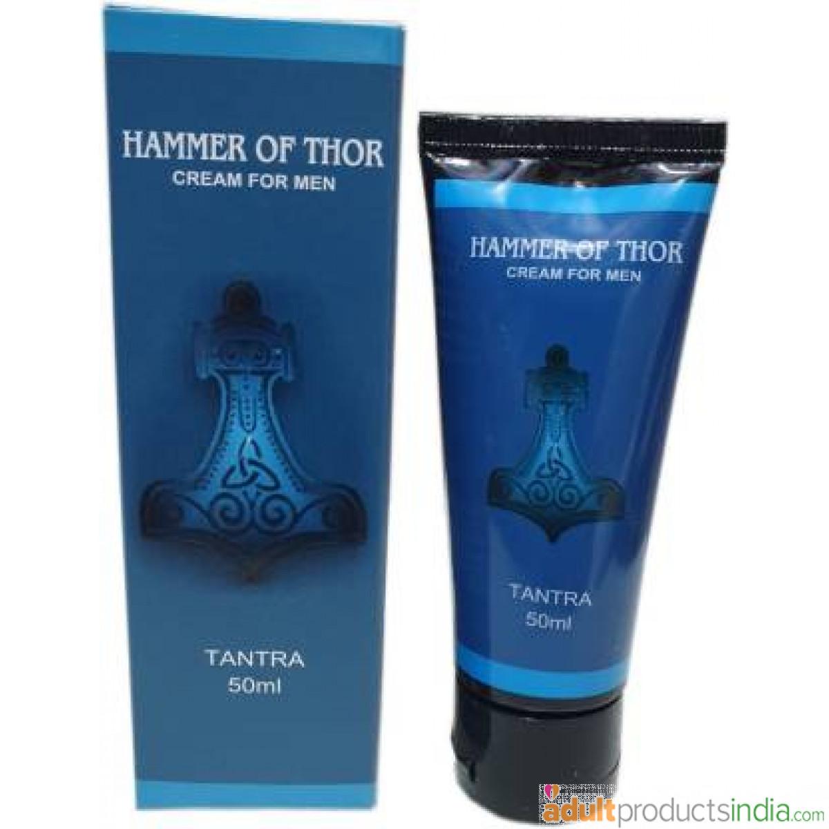 Hammer Of Thor Enlargement Cream For Men