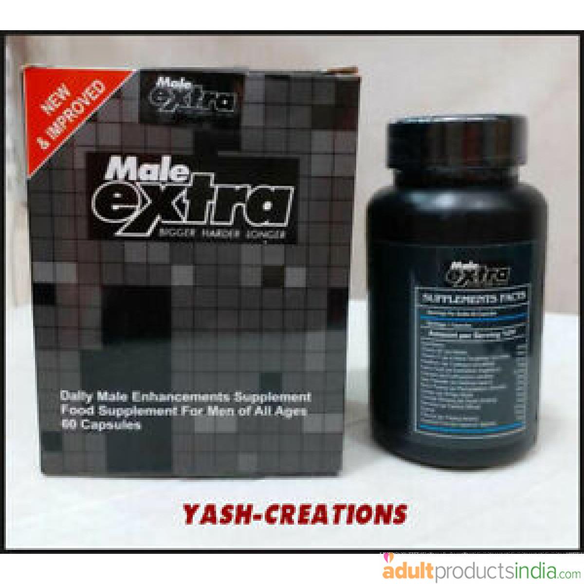 Male Extra Enhancement Capsules ( 60 Capsules )