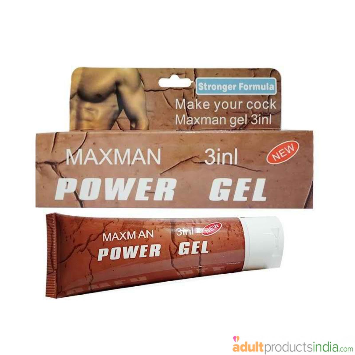 Maxman 3 In 1 Power Gel For Men