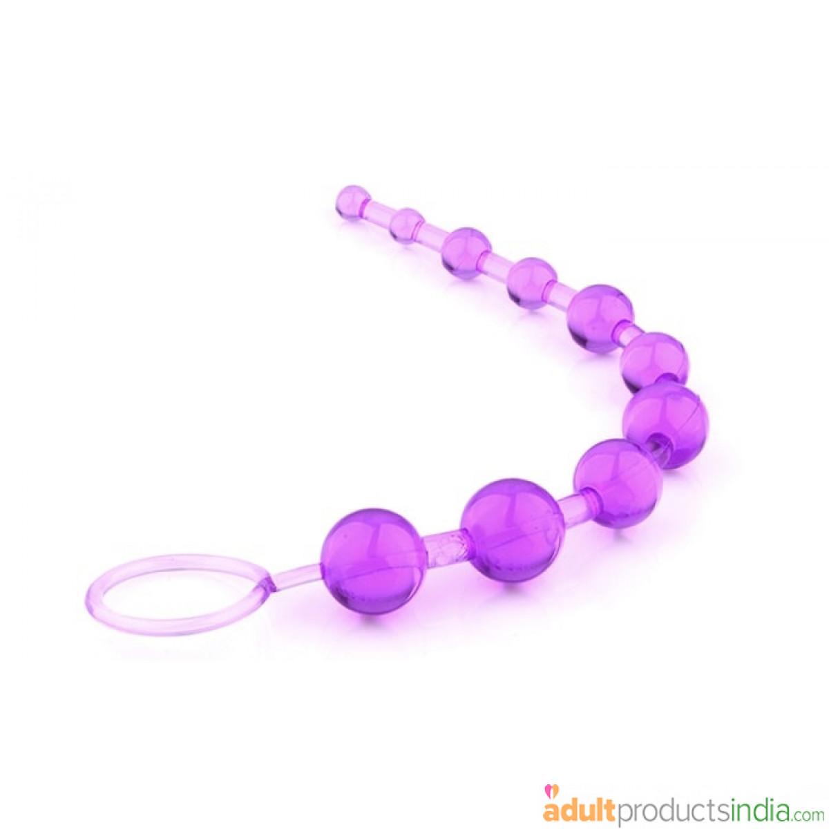 Anal beads purple