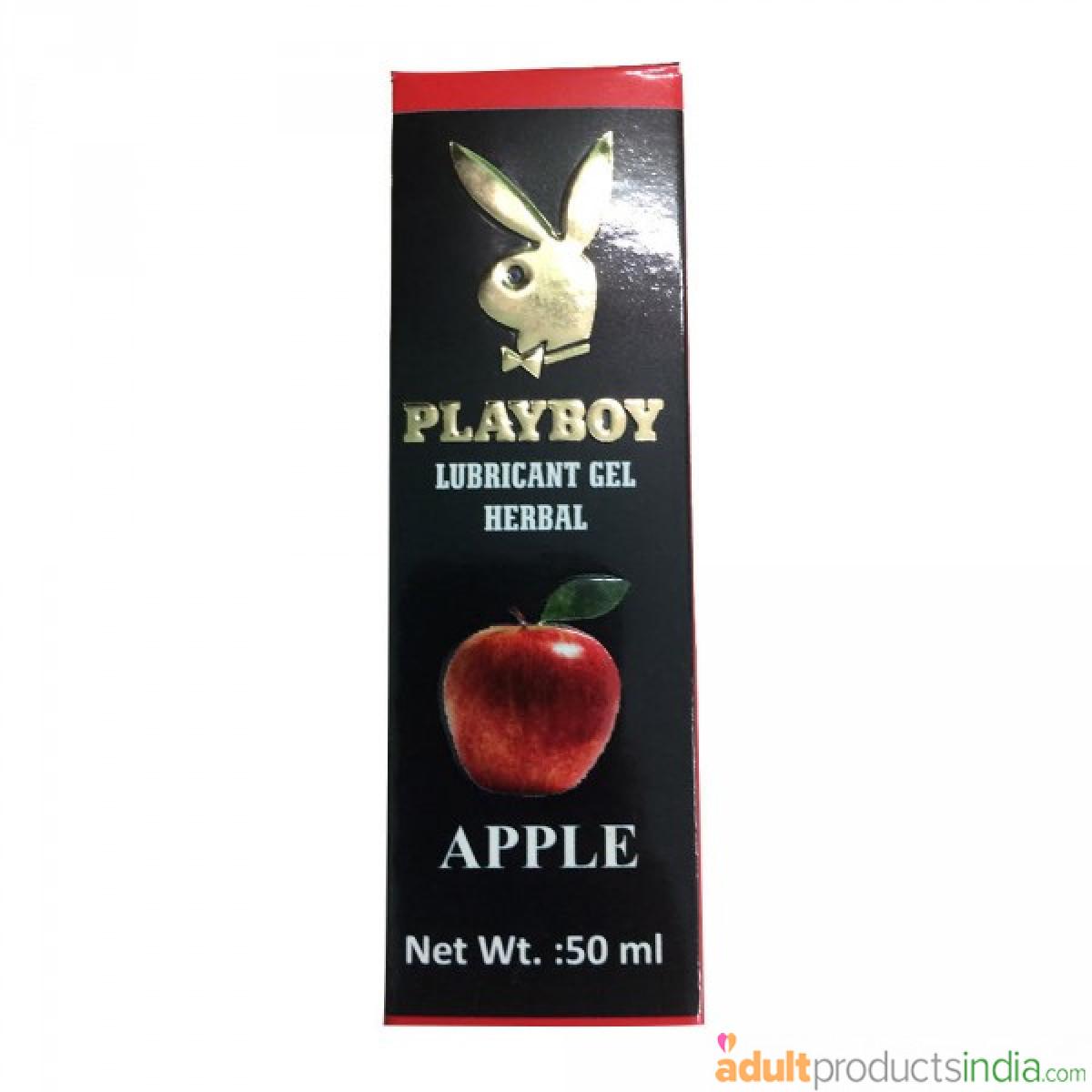 Playboy Lube - Apple