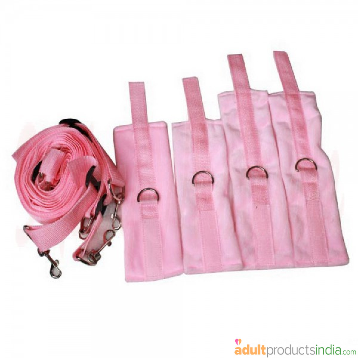 Hands and Feet Tied Bundles Bed-Pink