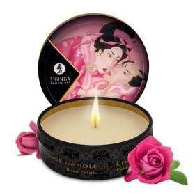 Shunga Japanese Massage Candle - Rose Petals