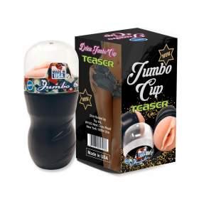 Jumbo Cup Masturbator with Free Lubricant