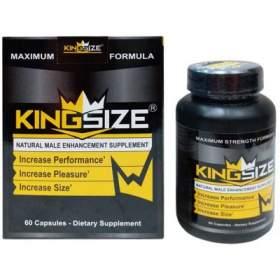 King Size Male Enhancement Pills ( 60 Capsules )