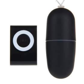 Remote Control Vibrating Egg - Black